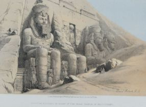 David Roberts RA, Scottish 1796-1864- The Holy Land, 1855-1856; chromolithographs on wove, eight