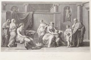 Pietro Antonio Leone Bettelini, Swiss 1763-1829- Cornelia, Mother of the Gracchi, Presents Her