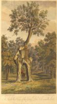 Michael Angelo Rooker, British 1746-1801- A North West View of the Green Dale Oak near Welbeck,