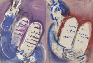Marc Chagall, Russian/French 1887-1985- Verve Vol IX 33/34, Illustrations for the Bible, 1956; the