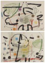 Joan Miró, Spanish 1983-1983- Maravillas con Variaciones Acrosticas en El Jardín de Miró (Plate 13