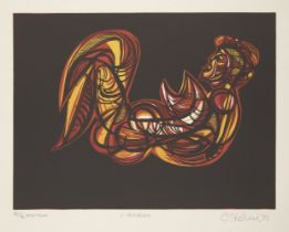 Cecil Skotnes, South African 1926-2009- Baudelaire's Voyage, 1975; the complete portfolio of ten