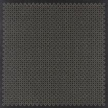 Gerhard von Graevenitz, German 1934-1983- Untitled (squares and crosses), 1963; two screenprints