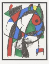 Joan Miró, Spanish 1893-1983- Lithograph I [Mourlot 1037], 1975; lithograph in colours on Arches