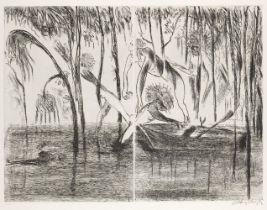 Arthur Boyd AC OBE, Australian 1920-1999- The Prodigal Son (three plates), 1996; three double-