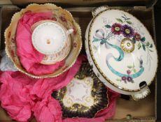 A quantity of decorative ceramics,
