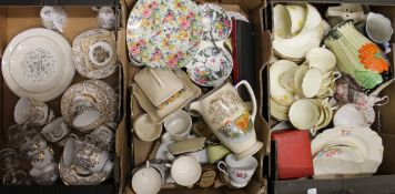 A large quantity of various ceramics and glass