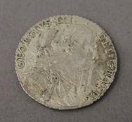 A George III 1787 shilling