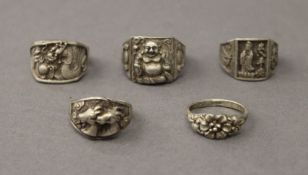 Five Chinese rings