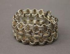 A 925 silver bracelet. 20.5 cm long. 93.4 grammes.