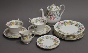 A Shelley Spring Bouquet porcelain tea set