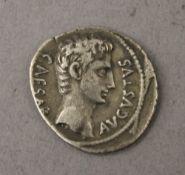 An Augustus Caesar Denarius