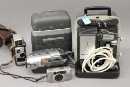 A quantity of camera equipment, etc.