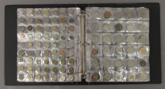 A large coin album of International coins