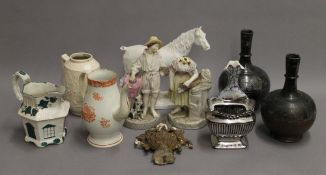 A quantity of miscellaneous ceramics and glass