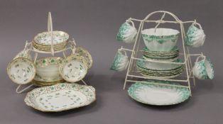 Two porcelain tea sets