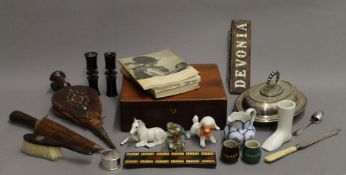 A quantity of miscellaneous items