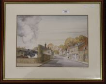 DEREK FIRTH, Pickering, limited edition print, numbered 44/50, signed to the margin,