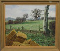 L RAMSAY (20th/21st century) British (AR), Meadows in Brampton, oil,