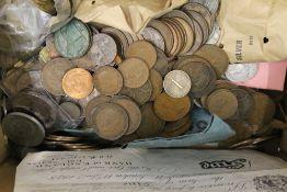 A coin collection