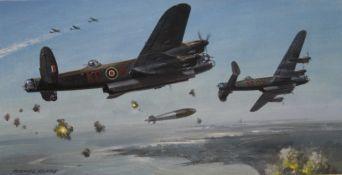 MICHAEL ROFFE (born 1948) British, Bombs Away,