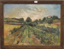 M RUIZ, Spanish Landscape, oil, signed, framed. 71.5 x 52.5 cm.