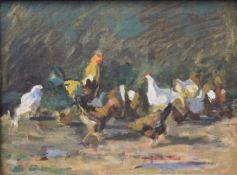 HELEN BYRNE BRYCE (1891-1971) (AR), The Despot, oil on canvas, framed. 39 x 28.5 cm.