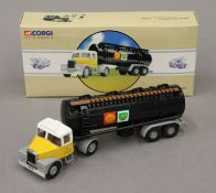 A boxed Corgi Classics Scammell Highway Man Tanker Shell MEX/BP.