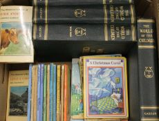 The World of Children and other vintage books.