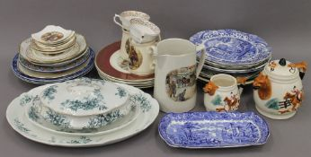 A quantity of miscellaneous ceramics.