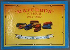 A vintage Matchbox 1-75 Series Collector's Catalogue.