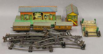 A quantity of Hornby railway equipment