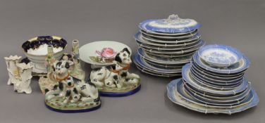 A quantity of miscellaneous decorative ceramics.