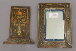 An 18th/19th century Indian mirror case.