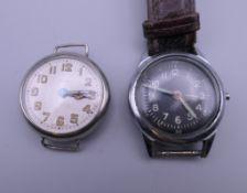 Two gentlemen's wristwatches.