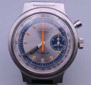 A Longines Conquest gentleman's wristwatch. 3.75 cm wide.