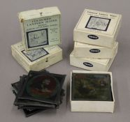 A quantity of Alice in Wonderland magic lantern slides and others.