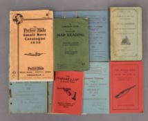 A collection of HMSO weapon training manuals and various other titles