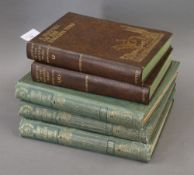 """A History of The English Turf, 3 vols, 1901, bookplate ex-libris """"Hugh Cecil"""", Earl of Lonsdale,"""