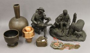 A small quantity of miscellaneous items,