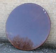 A large modern coffee table. 151 cm diameter.
