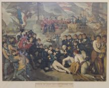 Two coloured lithographs, After FRED ROE,