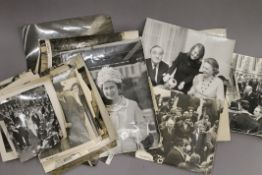 A quantity of Royal photographs