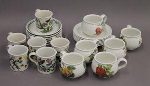 A quantity of Portmeirion porcelain.