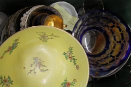 A large quantity of miscellaneous decorative ceramics and glass.