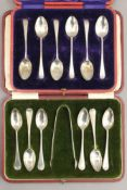 Two cases of silver spoons. 4.7 troy ounces.