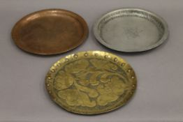 Two Arts and Crafts dishes by HUGH WALLIS (1891-1943),