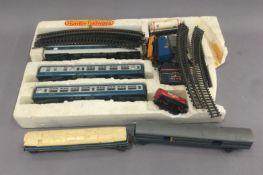 A quantity of Hornby railway equipment.