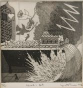 LYNETTE TURNER, Noah's Ark, limited edition print, numbered 14/50, signed and dated 1976,