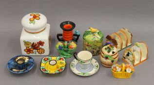 A small quantity of Japanese pottery Marutomo ware, etc.